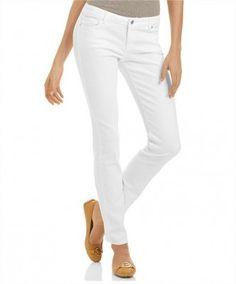 Jeans Michael Kors Women's Skinny Jeans White Wash #Jeans #Michael Kors
