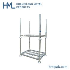 Movable Warehouse Hot DIP Galvanized Cold Room Storage Steel Rack, Model NO.: HML-M1 Weight: 1500kg Closed: Open Development: Conventional Serviceability: Common Use M1-Base: 1395L*1060W*310 mm M1-Post: 1200L*60W*2.5 mm Load in 1*40hq: 250 PCS Loading Capacity: 1500kgs Stackability: 4 High Product Warranty: 1 Year Color: Optional Posts: Detachable Finish: Hot DIP Galvanized Remark: Costomized or OEM Support Available Accessories: Forklift Guide, Bag, Wheels, etc. Product Shelf Life: up to 3… Steel Storage Rack, Steel Racks, Storage Room, Storage Spaces, Pallet Jack, Racking System, Roll Cage, Framing Materials, 5 Years