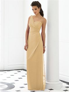 Can the sponsors wear the same dress but in this gold color instead?  It's called Venetian Gold. After Six Bridesmaid Dress 6646: The Dessy Group