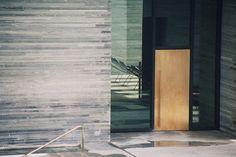 glass door zumthor vals - Google Search