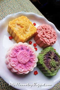 Small umbrella の sky: Kindergarten Mid-Autumn evening - jelly moon cake Jelly Mooncakes