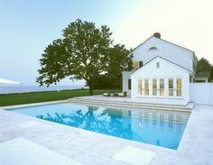 Gabellini Sheppard's East Hampton Residence. Great pool design.