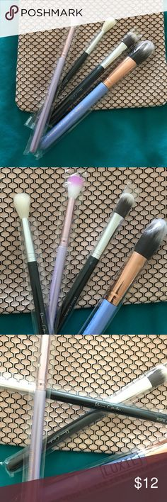Set of 4 makeup Brushes NEW Brand New Makeup Brushes..                                                         Luxie Beauty Precision Foundation Brush.  🌸📿.                         Ipsy  BLEND Beauty.                                                                        And 2 BeauGachis illuminate brush and tapered Blending Brush. Makeup Brushes & Tools