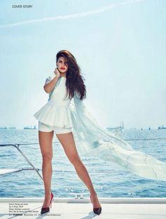 Jacqueline Fernandez on Filmfare Magazine December 2015.