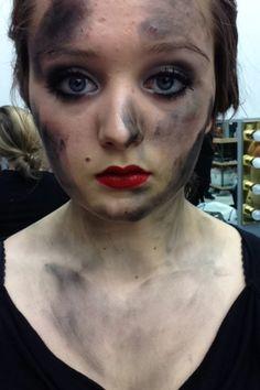 Stage makeup #musictheatre