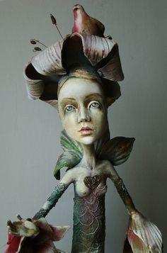 OOAK Art Doll The Lily, via Etsy.