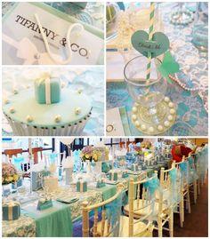 Tiffany & Co. Themed Birthday Party