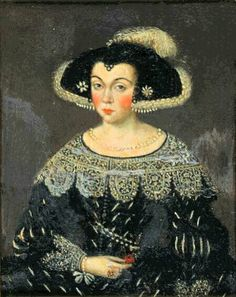 Retrato de dama, XVII d.C.
