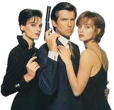Favorite Bond movie, Goldeneye. Just amazing when 007 fixes his tie when he drives the tank.
