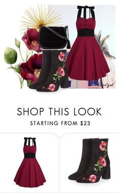 """""""Untitled #105"""" by hemy-908 ❤ liked on Polyvore featuring Topshop, Vince Camuto and vintage"""