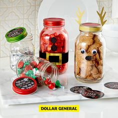 Create DIY gifts they'll love from products available at your local Dollar General.