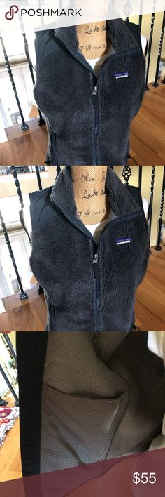 Women's Patagonia retro-x vest Barely used- maybe worn twice-  women's retro-x Patagonia vest. Wind proof-  very warm! gold standard in outdoor industry in terms of quality of product. Smoke free home Patagonia Jackets & Coats Vests