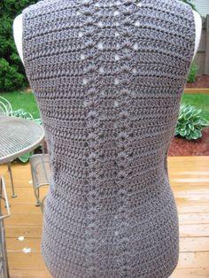 Crochet Pattern Meadows Vest with Matching Belt crochet by nutsaboutknitting Gilet Crochet, Crochet Cardigan Pattern, Crochet Jacket, Vest Pattern, Crochet Shawl, Free Crochet, Knit Crochet, Free Knitting, Knitting Patterns