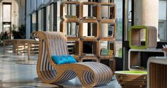 """X2Chair - Chaise Long"" by Giorgio Caporaso - LESSMORE® visit www.lessmore.it"