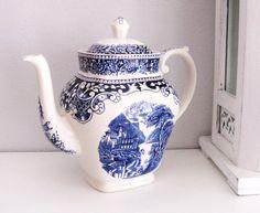 Antique MYOTT CO & Son Ironstone Teapot