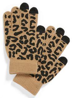 Lulu Animal Print Tech Gloves, $12 - The Best Gifts Under $20 - Seventeen