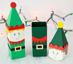 2 x CHRISTMAS TREAT BOXES GIFT SURPRISE SANTA MRS CLAUS EVE SPECIAL SWEET BOX
