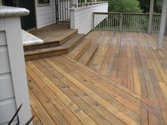 con-heart redwood deck with penafin stain