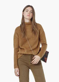 Pullover mit hohem kragen | MANGO