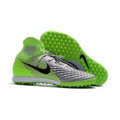 Nuove Scarpe Nike Magistax Proximo Ii Tf Verde Grigio