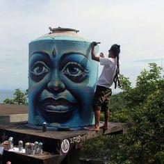 Splendid murals art by Wild Drawing aka WD. |cutpastestudio| Art Artist Artwork beautiful creativity entertainment graffiti art illustrations murals art Paintings street art