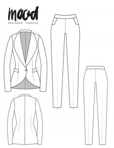 The Ercilla Suit Redux pt. II Free Sewing Pattern 2019 The Ercilla Suit Redux pt. II Free Sewing Pattern Mood Sewciety The post The Ercilla Suit Redux pt. II Free Sewing Pattern 2019 appeared first on Sewing ideas. Plus Size Sewing Patterns, Dress Sewing Patterns, Clothing Patterns, Clothing Templates, Skirt Patterns, Pattern Sewing, Coat Patterns, Blouse Patterns, Sewing Hacks