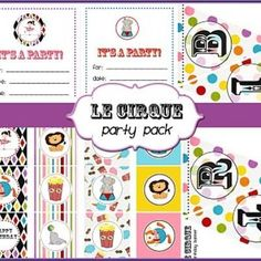 Circus Party Printables {Free Stuff}