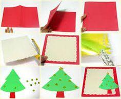 Se virando sem grana: Como fazer cartões de Natal com material recicláve...