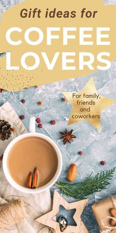 Look no further for the best gifts for coffee lovers - in our Gift Guide for coffee lovers we share everything from affordable coffee drinker gifts to the most amazing coffee gifts. Whether you are looking for holiday gifts, unique present ideas for coffee lovers or funny coffee gifts for coworkers, you will find the best gift ideas for coffee drinkers here. Holiday gift guide | Coffee present ideas | Coffee accessories | Christmas presents for coffee lovers Coffee Gift Baskets, Coffee Lover Gifts, Coffee Lovers, Funny Coffee, Coffee Humor, Christmas Presents, Holiday Gifts, Premium Coffee, Coffee Accessories