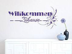 Wandtattoo Aufkleber mit #Swarovski für Flur Schriftzug Willkommen Zuhause (Größe=109x50cm // Aufkleber=062 hellgrün) Graz Design http://www.amazon.de/dp/B00NXZVSVO/ref=cm_sw_r_pi_dp_oFEAub1GTE9PZ
