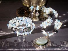 Silver Moonlight Jewellery Set