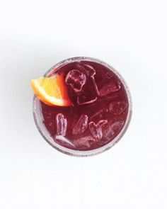 Sparkling Red-Wine Cocktail recipes: Perfect for this time of year.