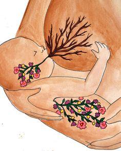 #breastfeeding #artwork Source: spiritysol.com by Catie Atkinson