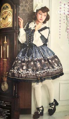 Misako Aoki in Metamorphose temps de fill - Star Rose Ribbon JSK