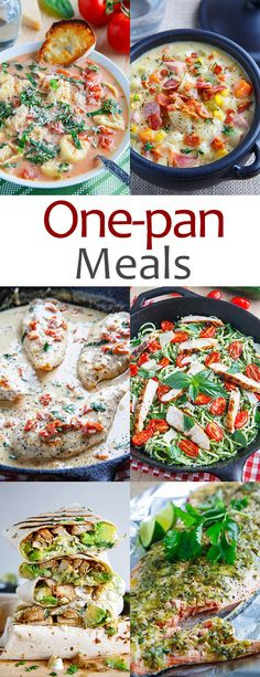 One-Pan Meals | Closet Cooking | Bloglovin'