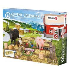 Farm adventi naptár Schleich   Kreatív Játék - Gyermekeink mosolyáért!