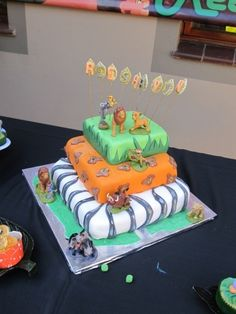 Lion King Cake By Thashana on CakeCentral.com