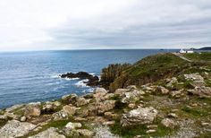 Exploring the end of europe at Land's END in Cornwall!