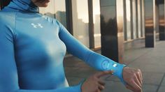 Touchscreen t-shirts that track your fitness are only a few years away.
