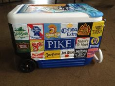 painted coolers - Google Search