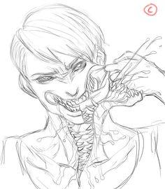 Fantasy Character Design, Character Design Inspiration, Character Art, Monster Concept Art, Monster Art, Creature Concept Art, Creature Design, Arte Horror, Horror Art