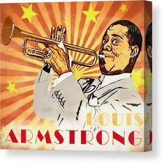 Louis Armstrong, Prints For Sale, Pop Art, Wall Art, Artwork, Art Work, Work Of Art, Auguste Rodin Artwork, Art Pop