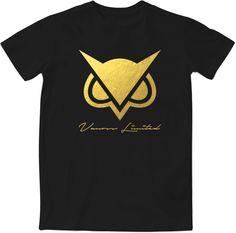 Limited Edition - Vanoss    Gold Foil Logo T-Shirt