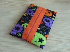 Halloween Skulls tissue Holder/ pocket  https://www.etsy.com/uk/shop/Foiledbyfelines