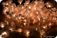 The Awesometastic Bridal Blog: Ideas for String Lights