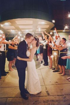 Sparkler Send Off Commonwealth Commerce Center Rehnlund Wedding By Ejo Photography Www Ejophotography