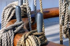Sheet, line, rope - different names for different uses of rope on a boat.