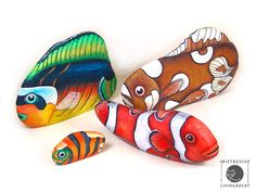 Sassi a p-arte: pesci - fish
