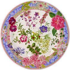 Millefleurs Dessert Plate