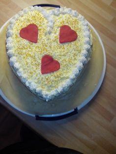 meine erste red velvet cake